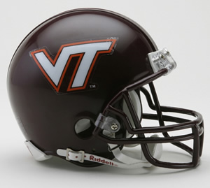 Virginia Tech Hokies Riddell Mini Helmet